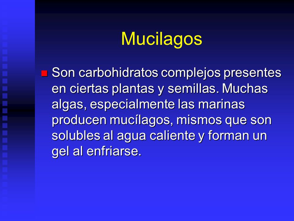 Mucilagos