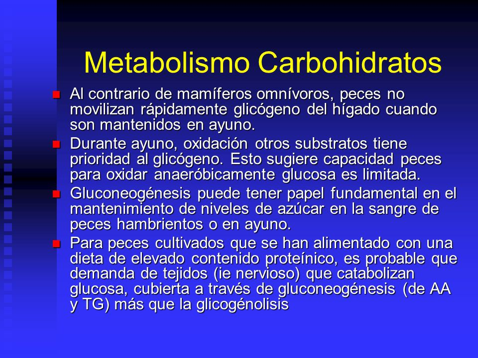Metabolismo Carbohidratos