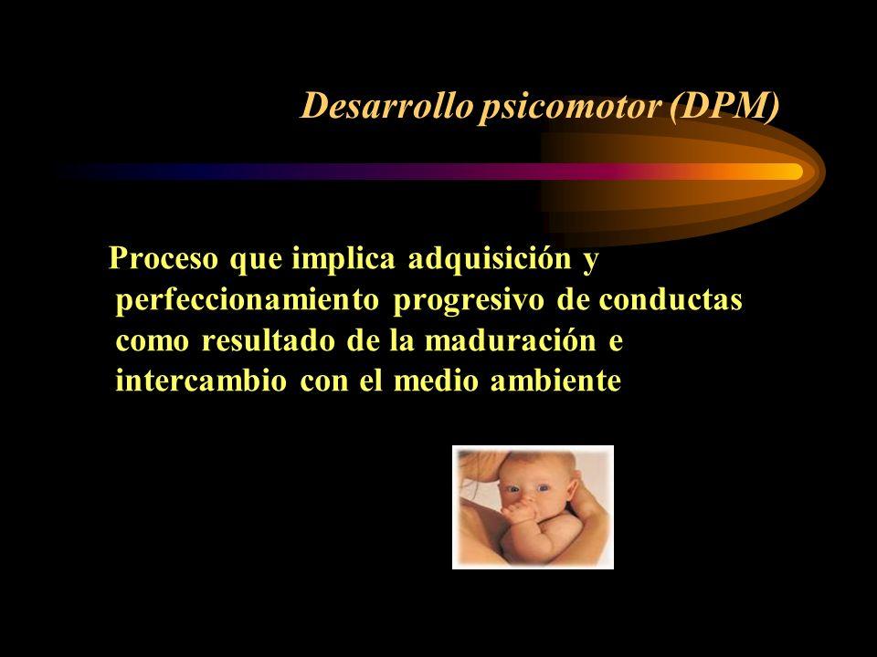 Desarrollo psicomotor (DPM)