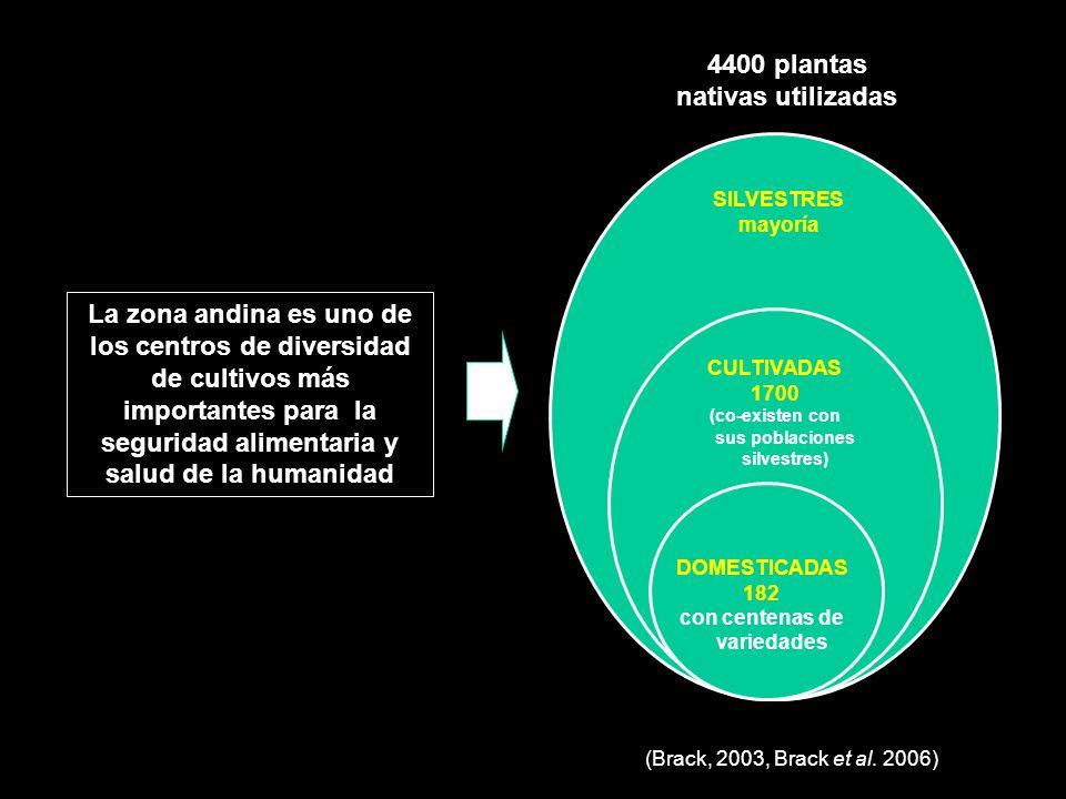 4400 plantas nativas utilizadas