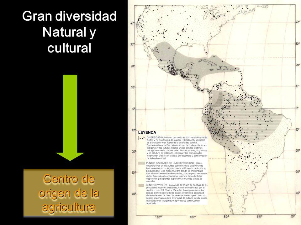 Gran diversidad Natural y cultural