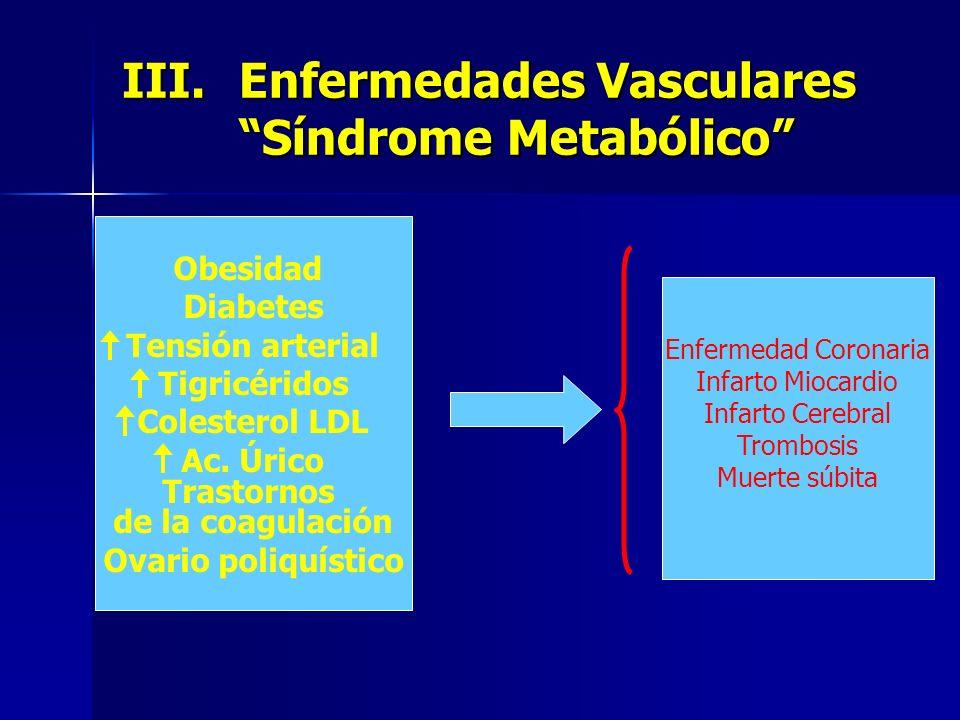 Enfermedades Vasculares Síndrome Metabólico