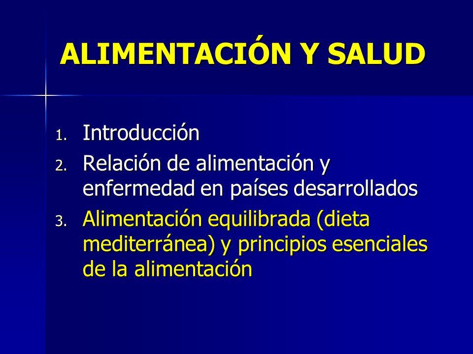ALIMENTACIÓN Y SALUD Introducción