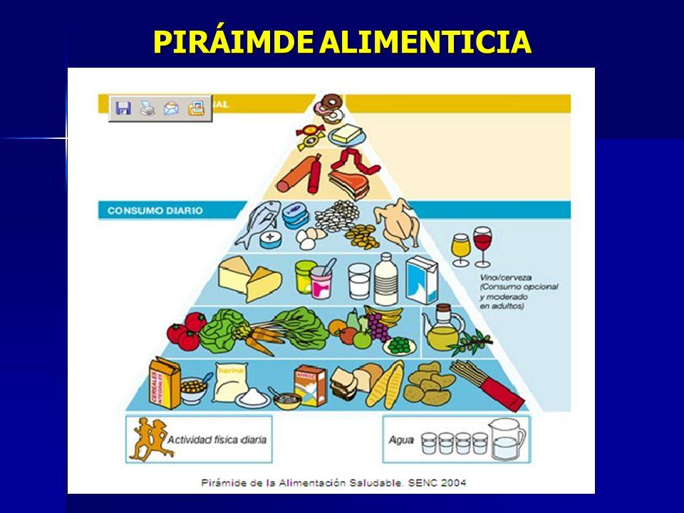 PIRÁIMDE ALIMENTICIA