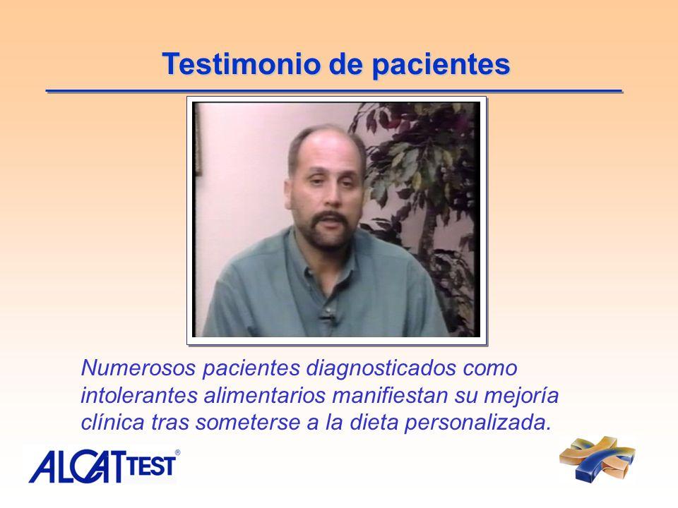 Testimonio de pacientes