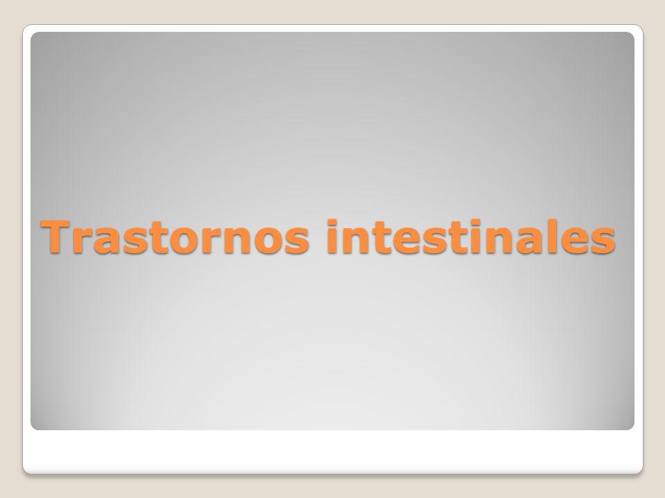 Trastornos intestinales