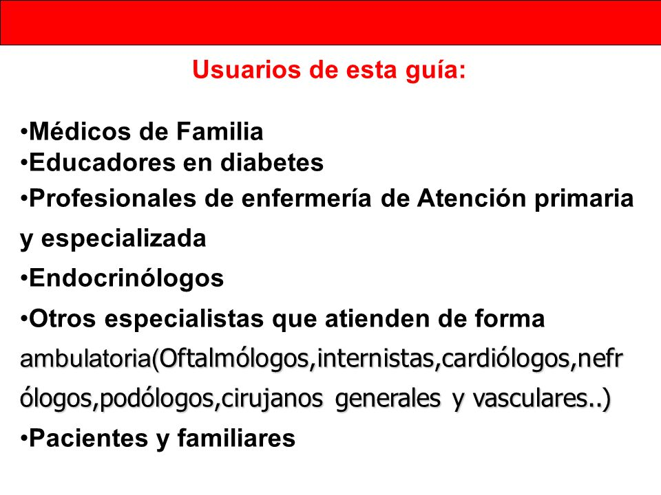 Educadores en diabetes