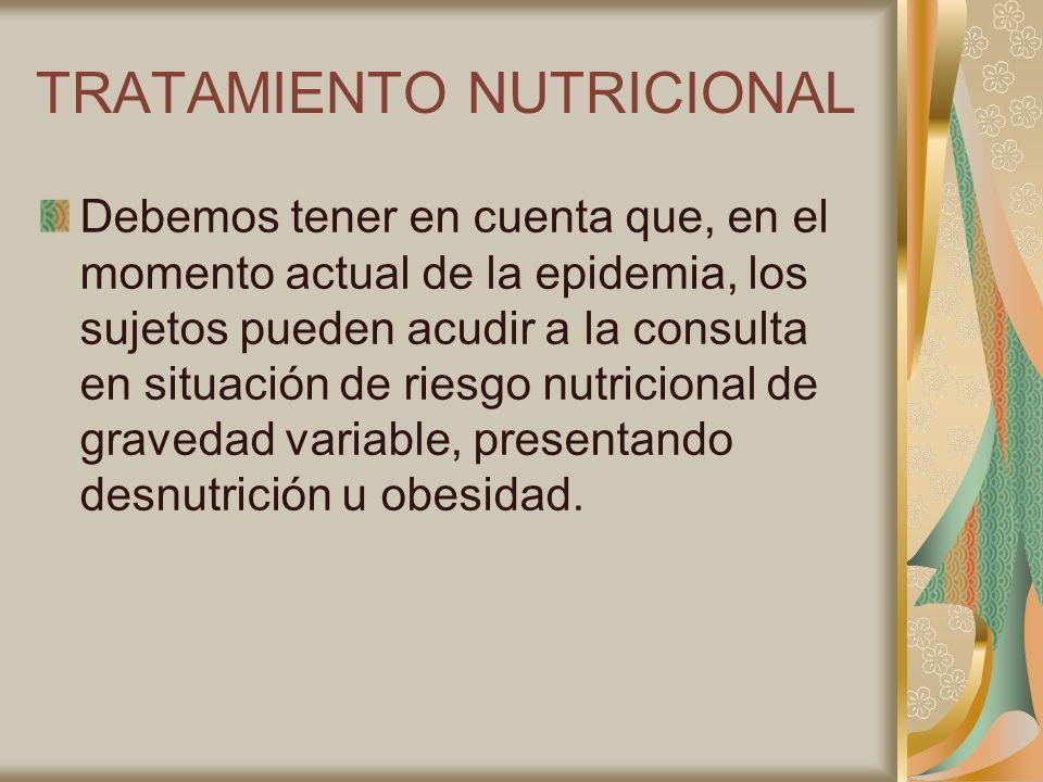 TRATAMIENTO NUTRICIONAL