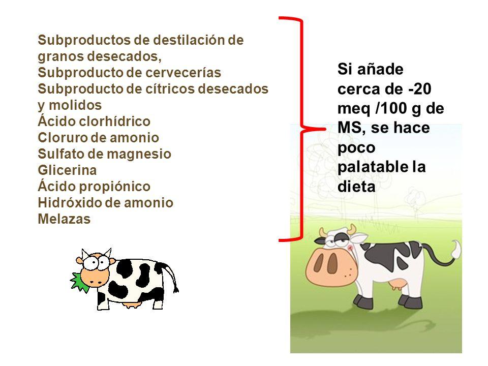 Subproductos de destilación de granos desecados,