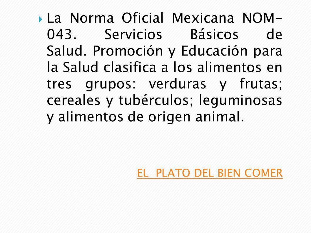 La Norma Oficial Mexicana NOM- 043. Servicios Básicos de Salud