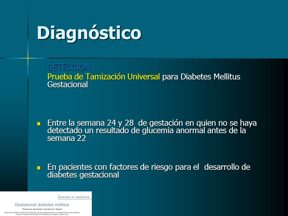 Diagnóstico DETECCION