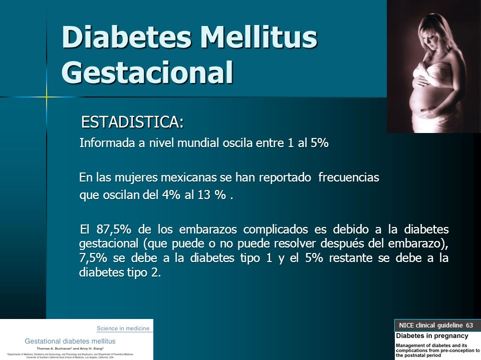 DIABETES MELLITUS GESTACIONAL - ppt video online descargar
