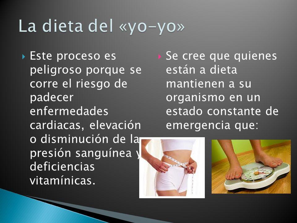 La dieta del «yo-yo»