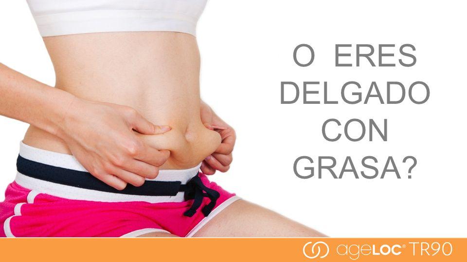 O ERES DELGADO CON GRASA