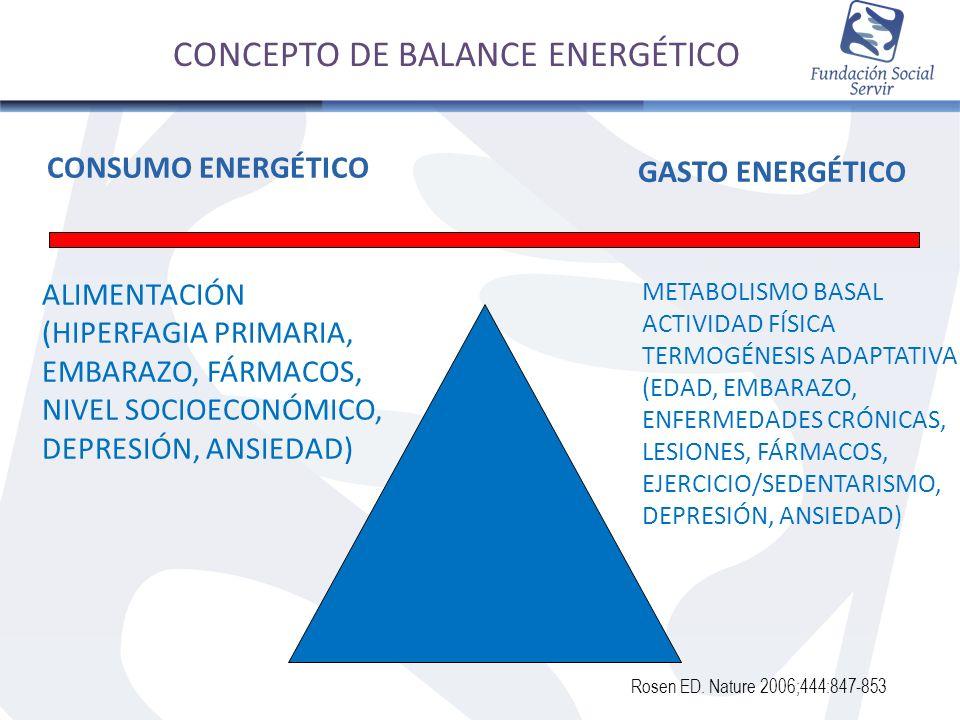 CONCEPTO DE BALANCE ENERGÉTICO