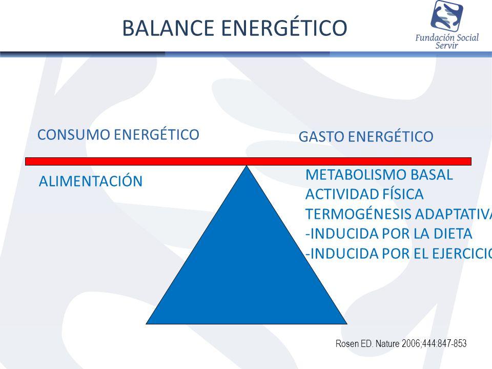 BALANCE ENERGÉTICO CONSUMO ENERGÉTICO GASTO ENERGÉTICO ALIMENTACIÓN
