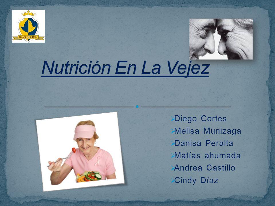 Nutrición En La Vejez Diego Cortes Melisa Munizaga Danisa Peralta
