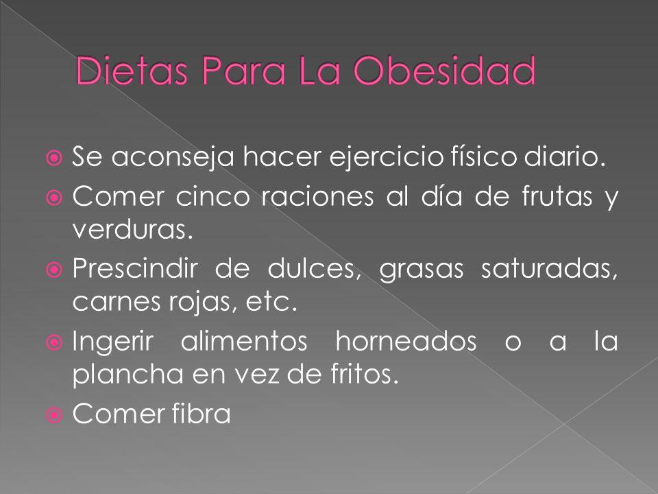 Dietas Para La Obesidad