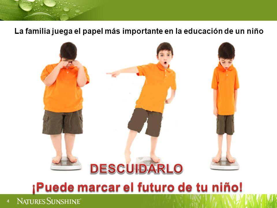¡Puede marcar el futuro de tu niño!