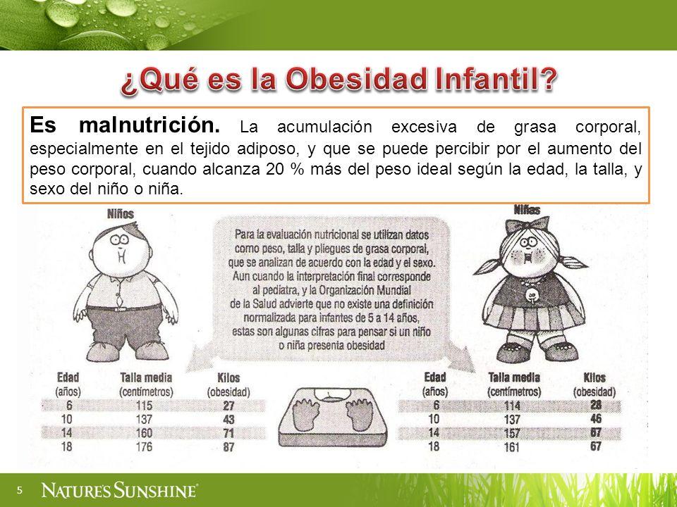 ¿Qué es la Obesidad Infantil
