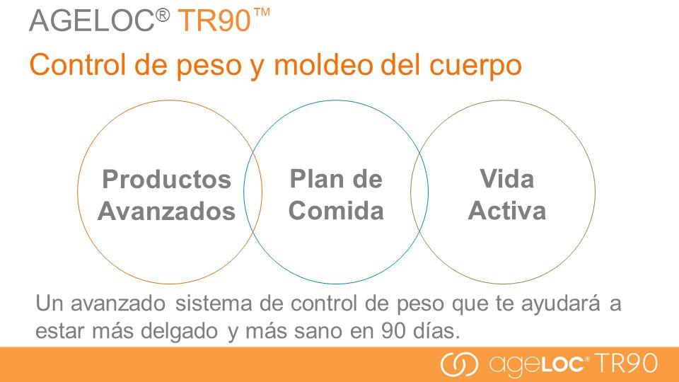 AGELOC® TR90™ Control de peso y moldeo del cuerpo