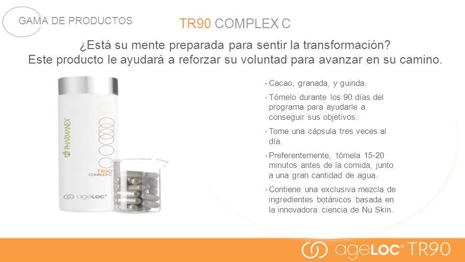 TR90 COMPLEX C ¿Está su mente preparada para sentir la transformación Este producto le ayudará a reforzar su voluntad para avanzar en su camino.