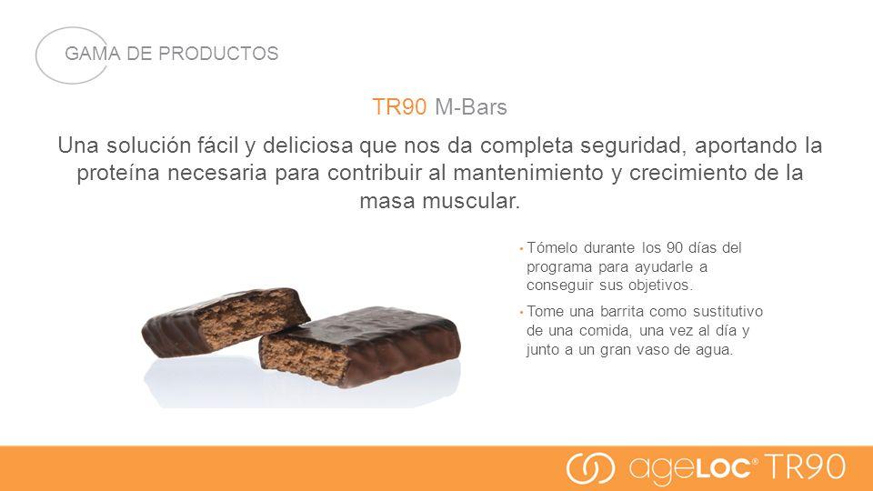 GAMA DE PRODUCTOS TR90 M-Bars.