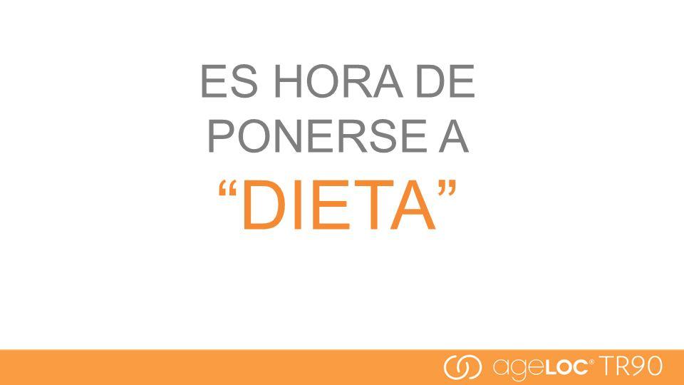ES HORA DE PONERSE A DIETA