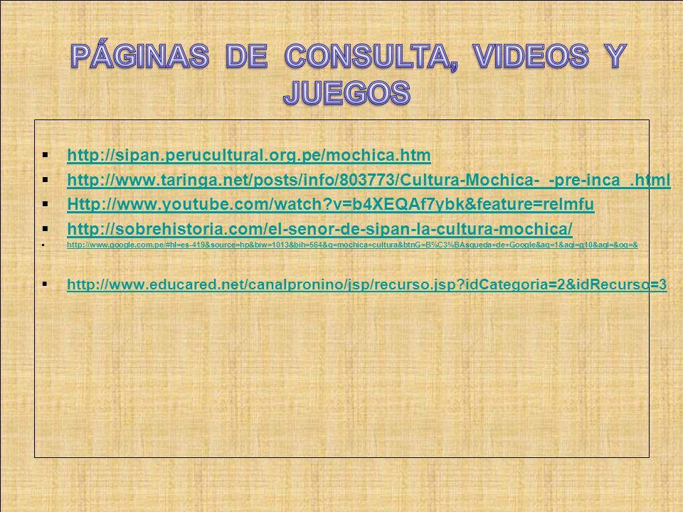 PÁGINAS DE CONSULTA, VIDEOS Y JUEGOS