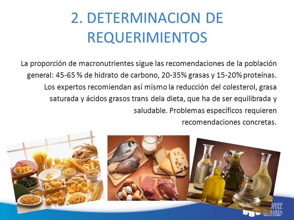 2. DETERMINACION DE REQUERIMIENTOS