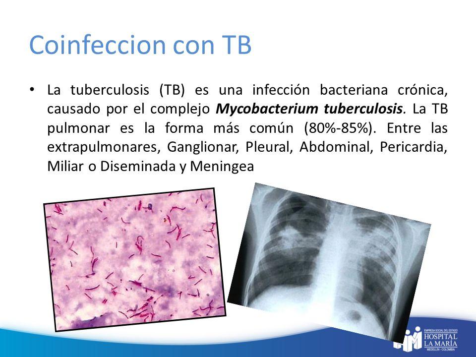 Coinfeccion con TB