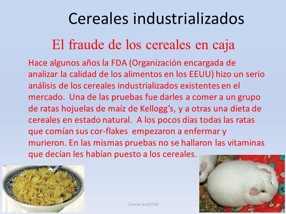 Cereales industrializados