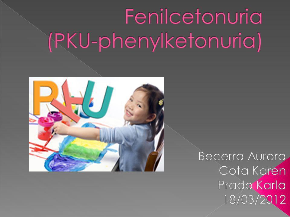Fenilcetonuria (PKU-phenylketonuria)
