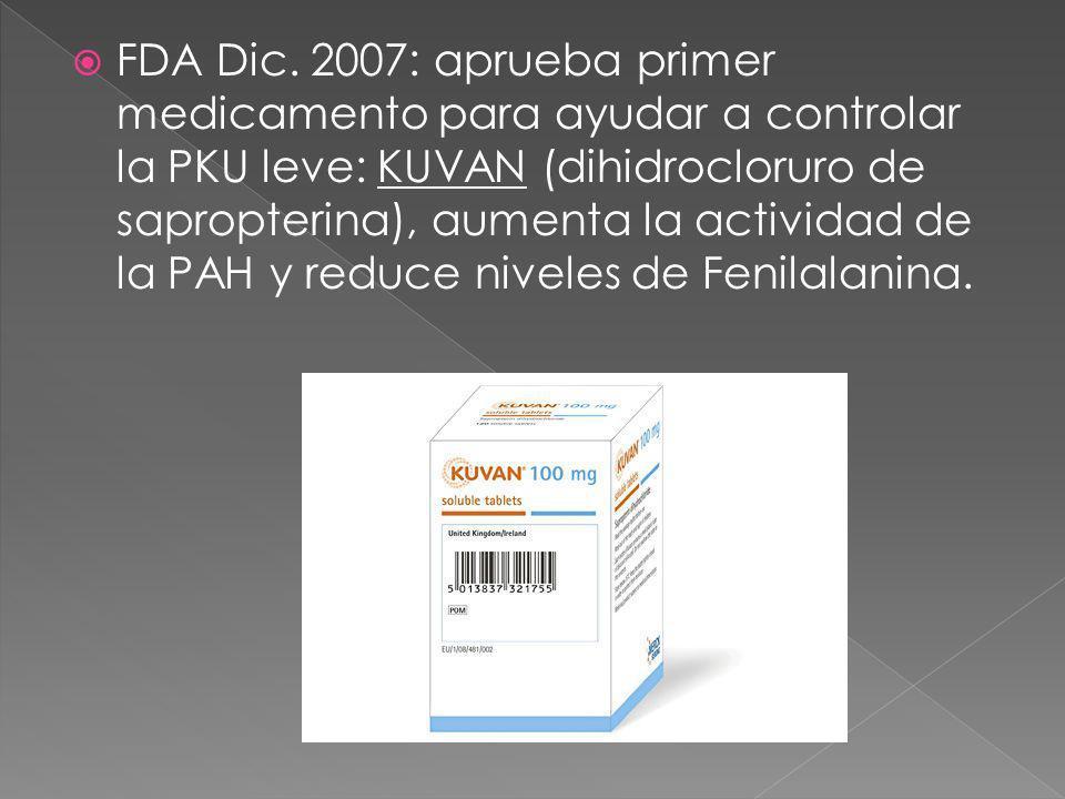 FDA Dic.