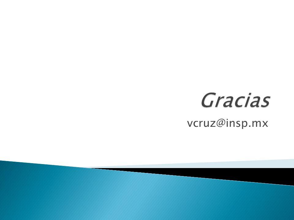 Gracias vcruz@insp.mx