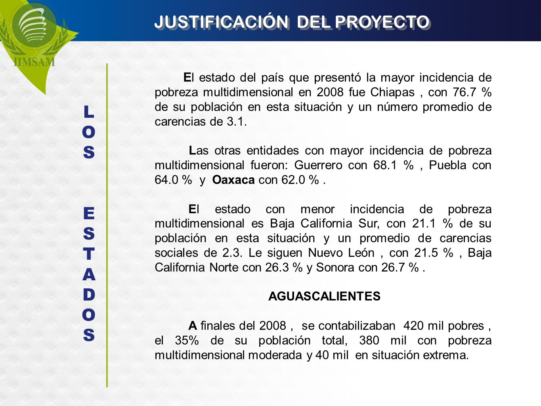 JUSTIFICACIÓN DEL PROYECTO