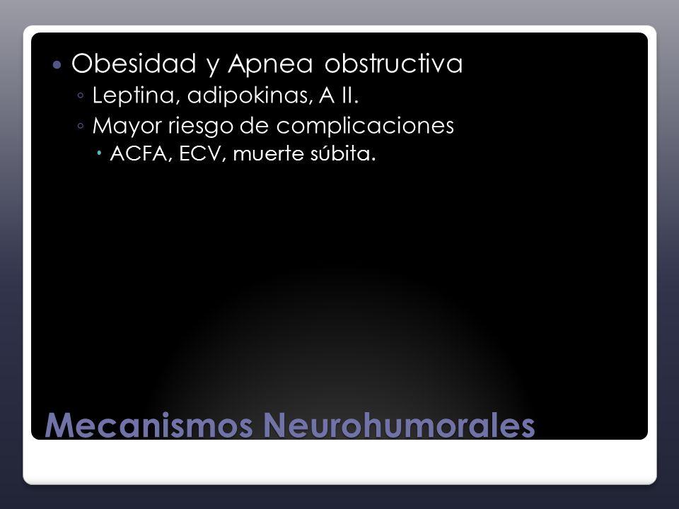 Mecanismos Neurohumorales
