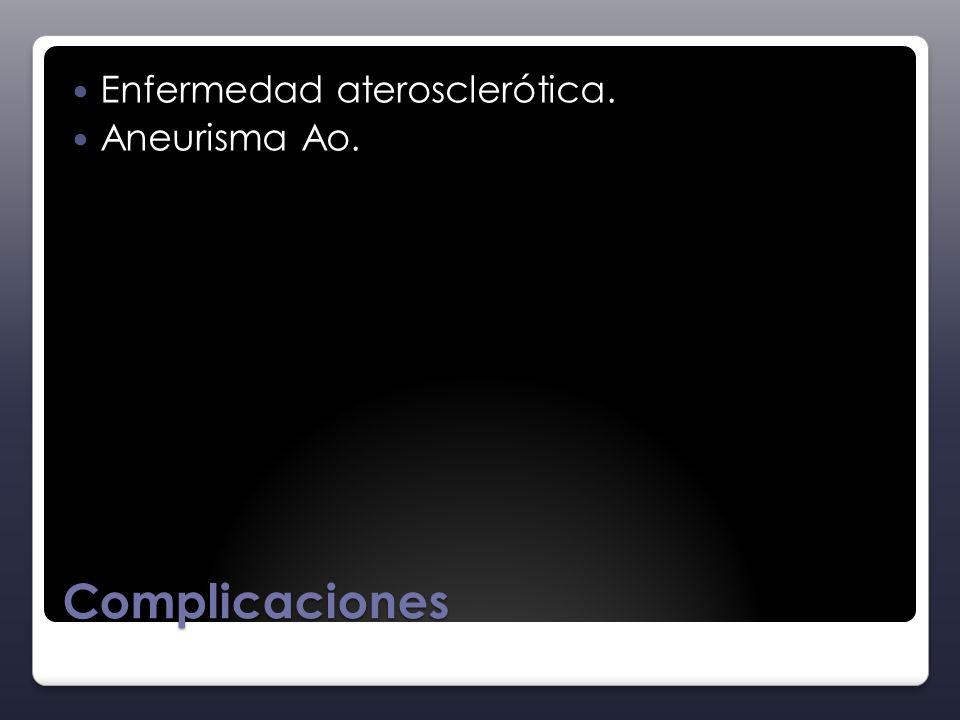 Enfermedad aterosclerótica.