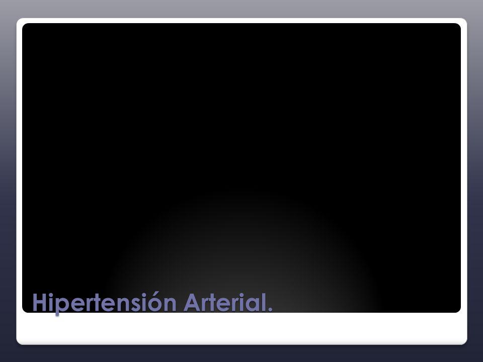 Hipertensión Arterial.