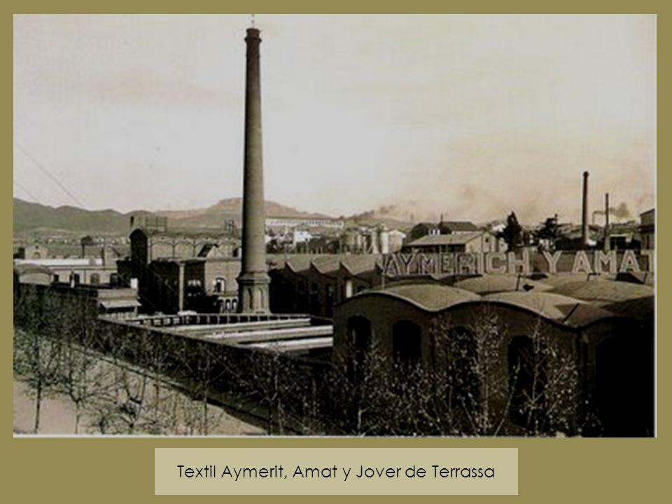 Textil Aymerit, Amat y Jover de Terrassa