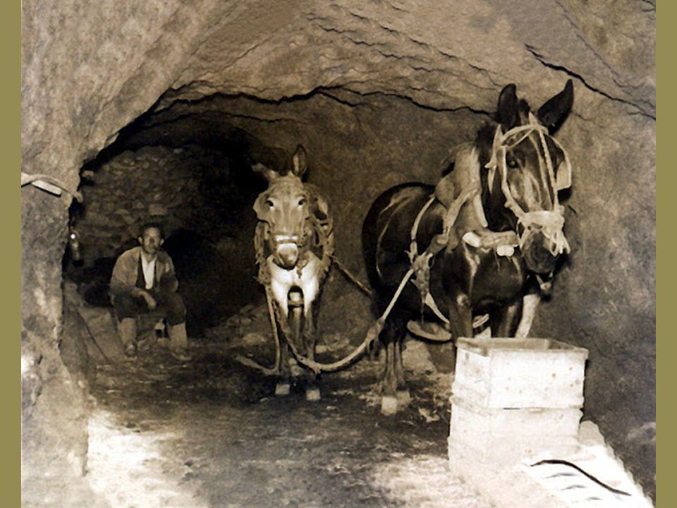 Principales zonas mineras.
