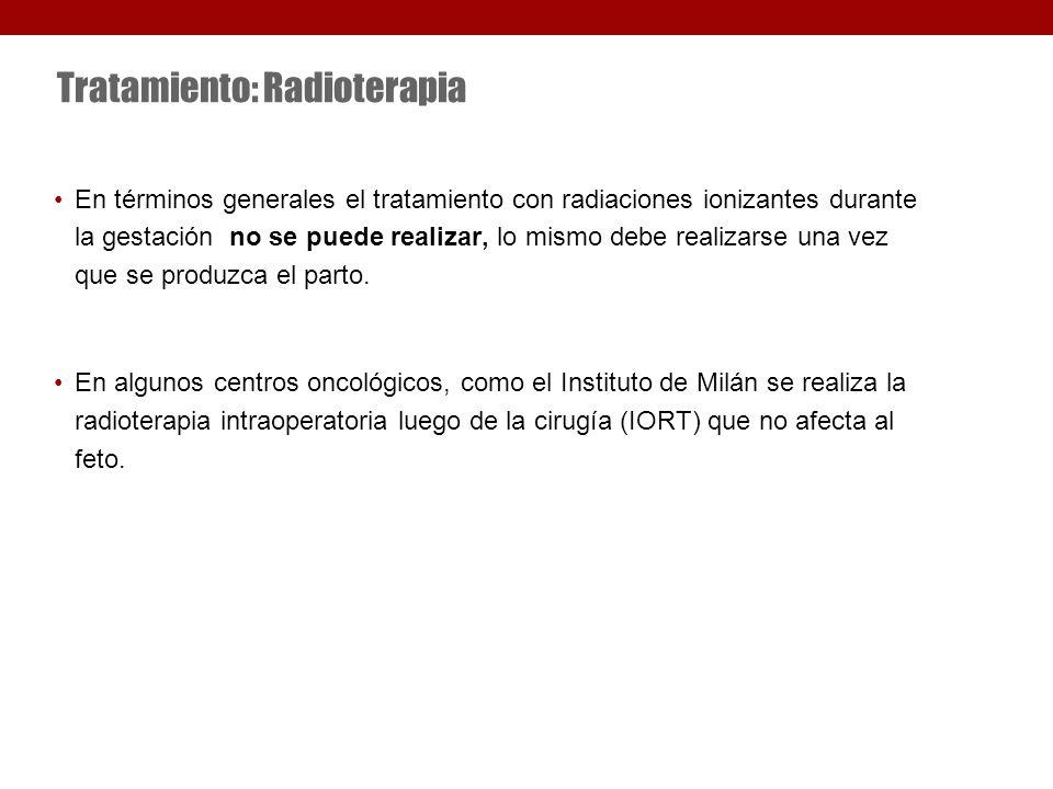 Tratamiento: Radioterapia
