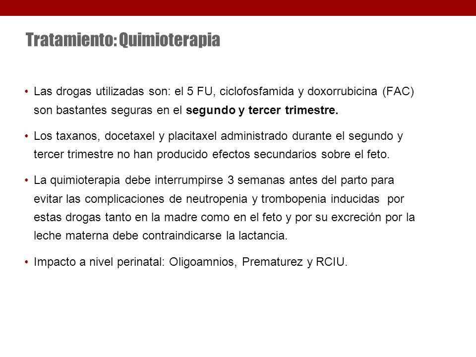 Tratamiento: Quimioterapia