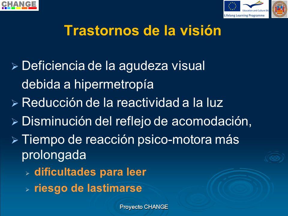 Trastornos de la visión