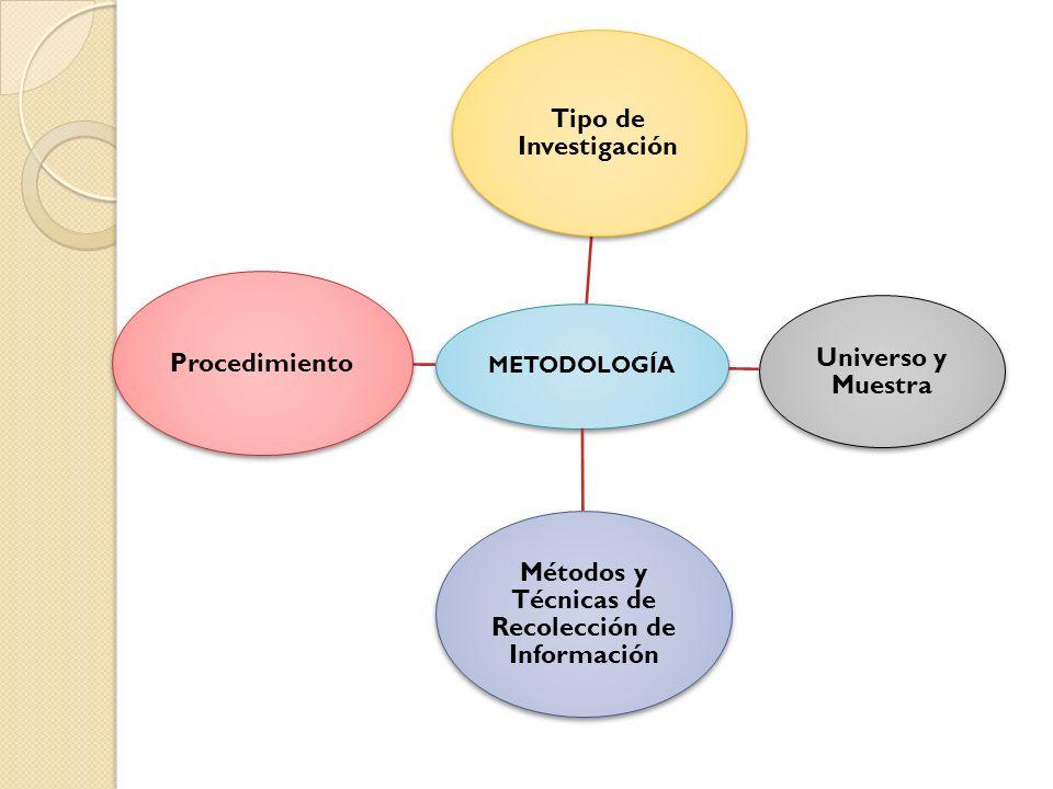 Métodos y Técnicas de Recolección de Información