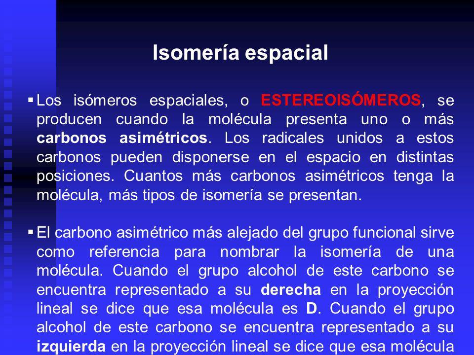 Isomería espacial