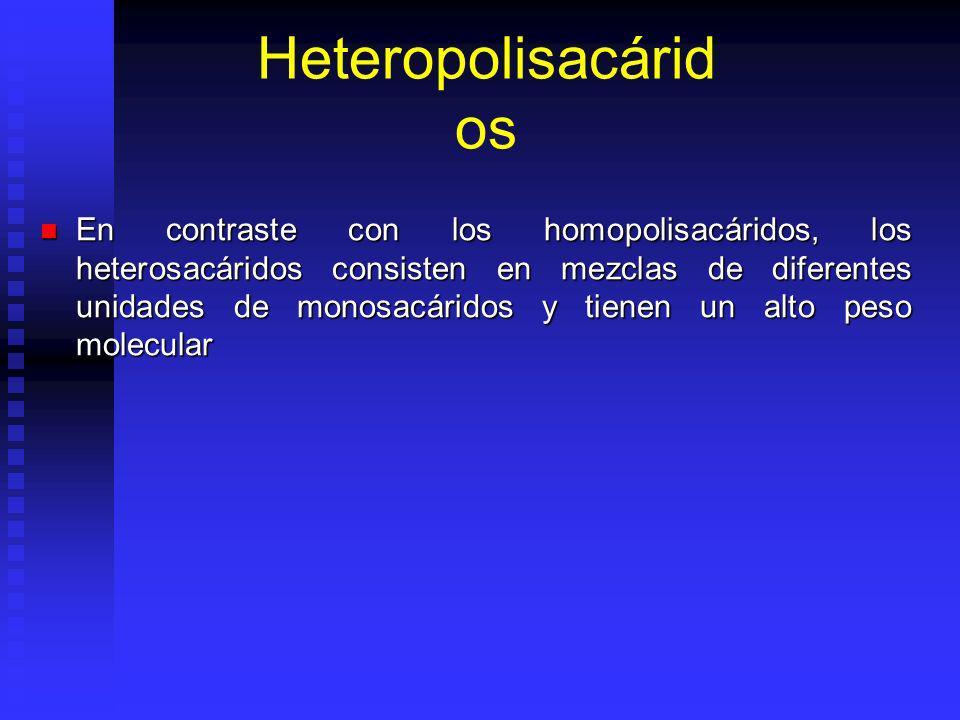 Heteropolisacáridos