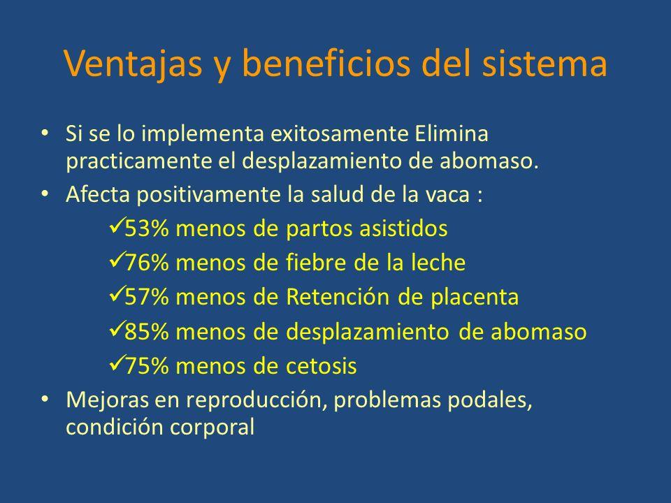 Ventajas y beneficios del sistema