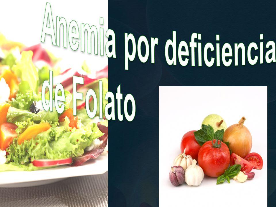 Anemia por deficiencia de Folato