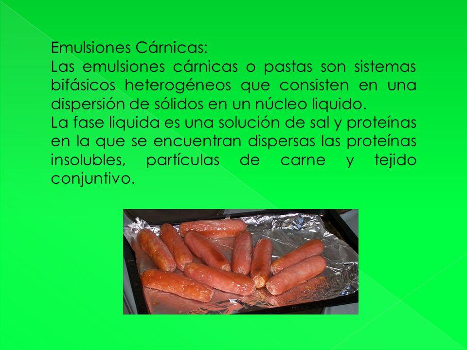 Emulsiones Cárnicas: